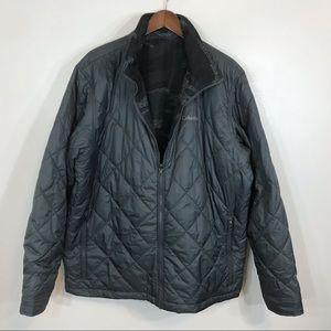 Columbia reversible zip up jacket